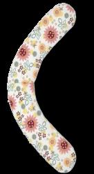 Подушка Theraline летний сад экрю