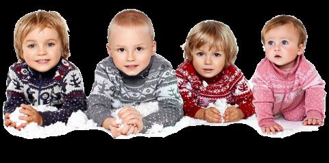 Шерсть мериноса - основа для теплой детской одежды