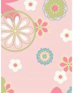 Подушки Theraline. Чехол 190 Цветы розовый