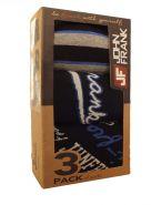 Набор носок John Frank черные LSW14. 3 пары