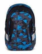 Рюкзак школьный ортопедический Satch Sleek Blue Triangle