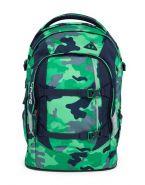 Рюкзак школьный ортопедический Satch Pack Green Camou