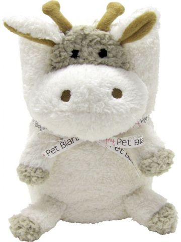 Игрушка подушка плед Blankie. Жираф