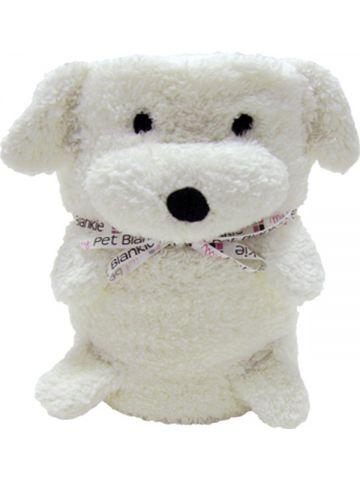 Игрушка подушка плед Blankie. Собачка