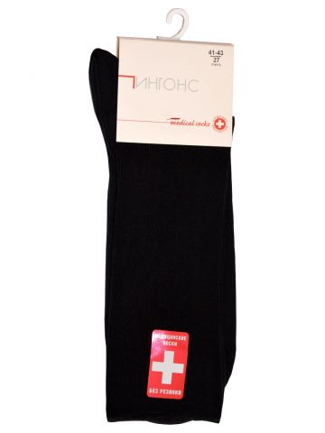 Медицинские носки, черные