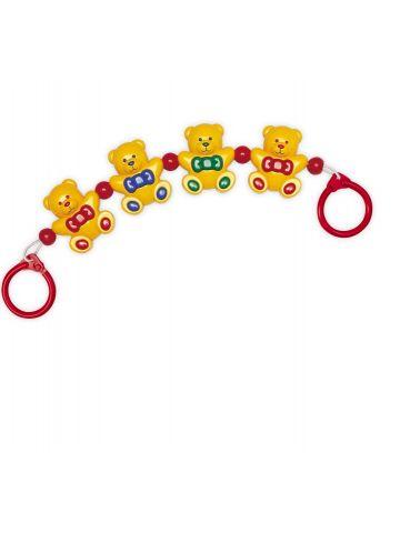 Развивающая игрушка Tolo (3 мес). Гирлянда медвежата