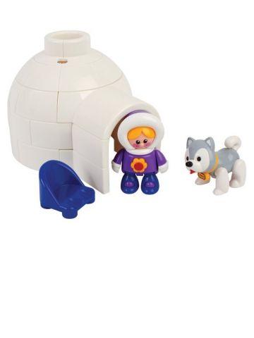 Развивающая игрушка Tolo (от 1 года). Серия полярная. Набор Иглу