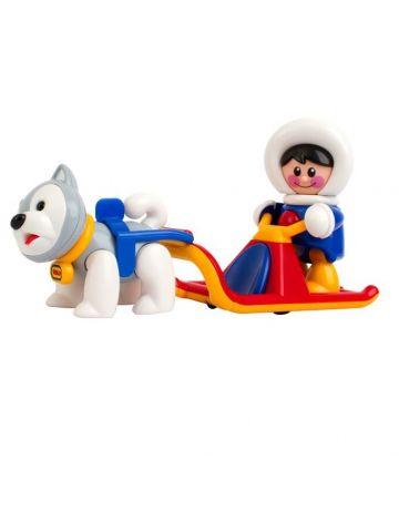 Развивающая игрушка Tolo (от 1 года). Серия полярная. Набор полярные сани