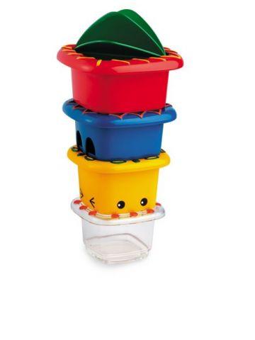 Развивающая игрушка Tolo (12 мес). Набор квадратных ведерок