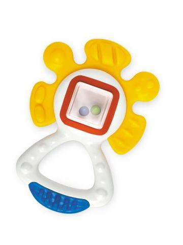 Развивающая игрушка Tolo (3 мес). Погремушка-прорезыватель солнышко