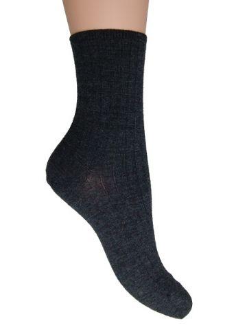 Носки медицинские женские шерсть черные