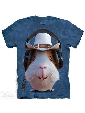 Футболка Mountain.Guinea Pig Cowboy