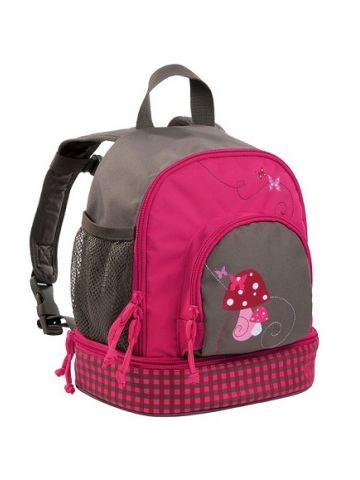 Детский рюкзак для девочек малый розовый.