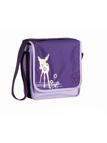 Сумка детская через плечо мессенджер мини фиолетовый.