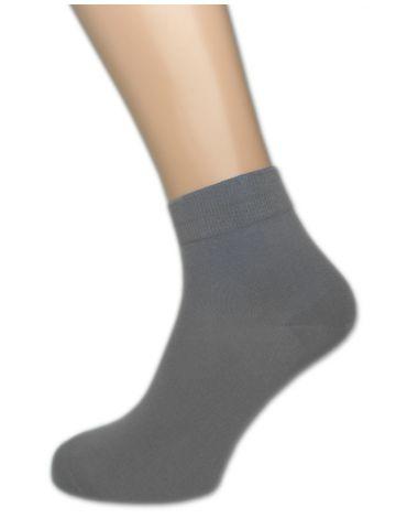 Носки мужские короткие. Хлопок. Серые