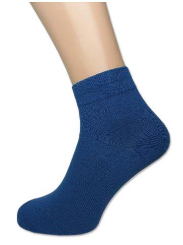Носки мужские короткие. Хлопок. Синие
