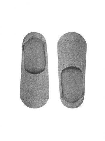 Носки невидимки серые John Frank