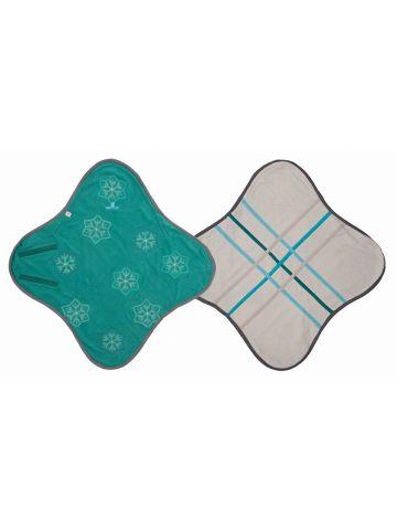 Конверт-одеяло флисовый WRAPPER FLEECE. Зеленый