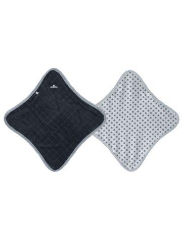 Конверт-одеяло хлопковый WRAPPER Cotton. Черный