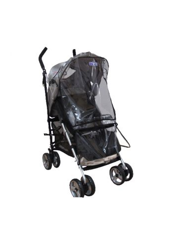 Защитная накидка на коляску от дождя и снега, прозрачная. Dooky Rain