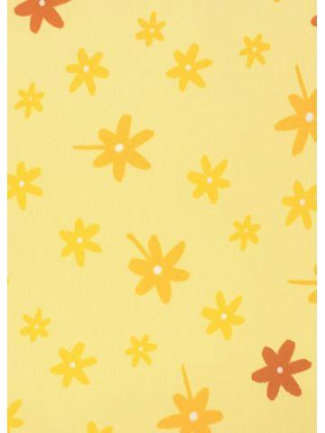 Подушки Theraline. Чехол 190 цветочки желтый
