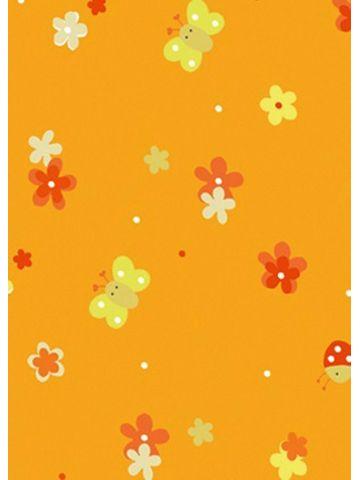 Подушки Theraline. Чехол 190 поляна оранжевый