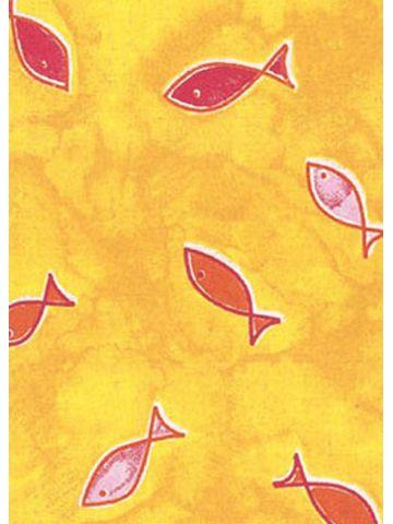 Подушки Theraline. Чехол 170 рыбы желтый
