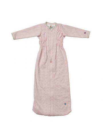 Спальный мешок для новорожденного длинный рукав. Розовый.