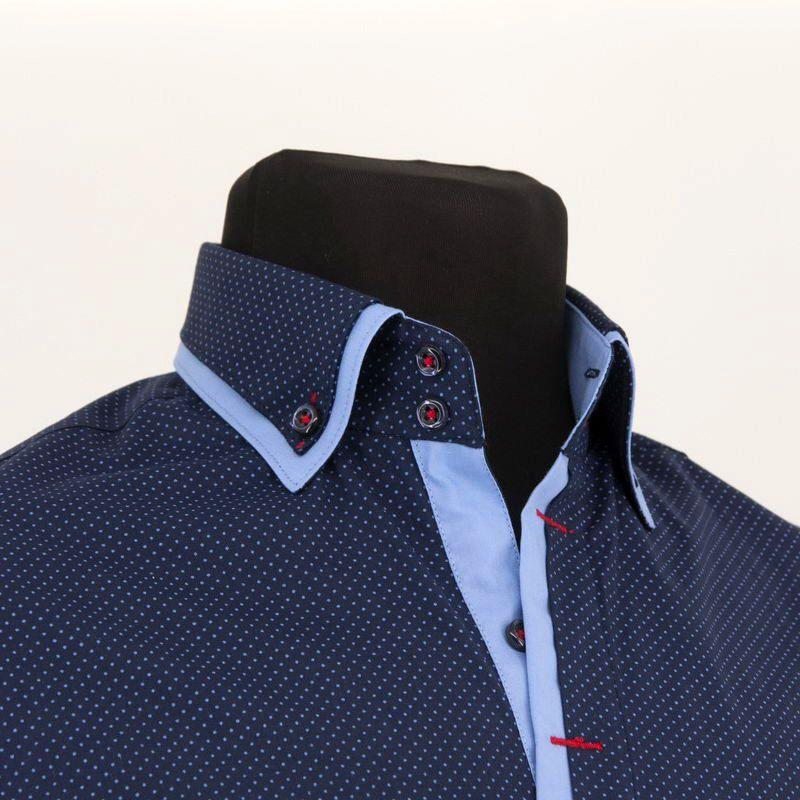 20336b6276778f9 красивые рубашки: рубашки с двойным воротником харьков