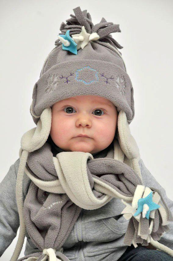 Детский шарф из флиса своими руками 86