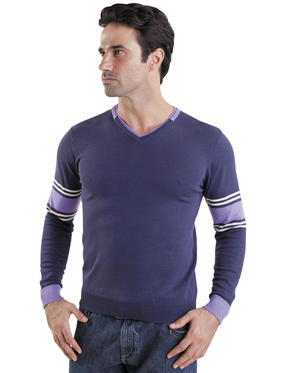 Мужской пуловер с косами доставка